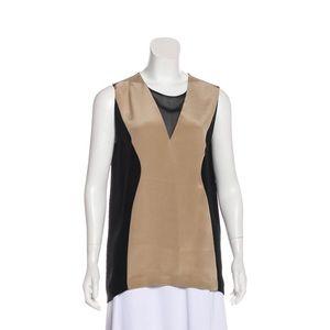 3.1 Phillip Lim colorblock silk tunic